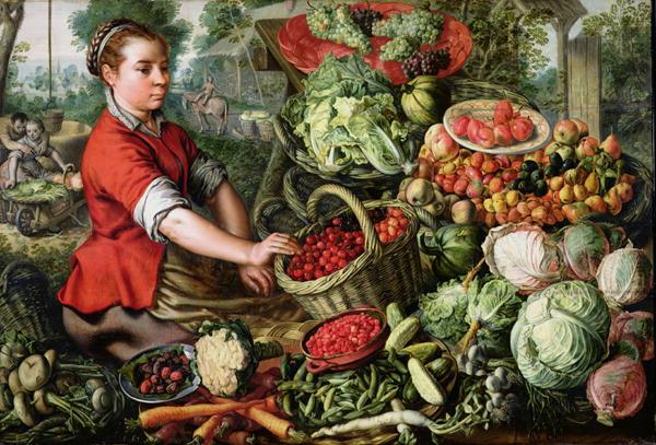 The-Vegetable-Seller-xx-Joachim-Beuckelaer-or-Bueckelaer